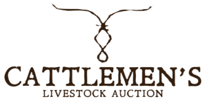 Cattlemens Livestock Auction Brown Logo Clear Background